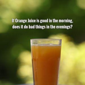Orange Juice Questions